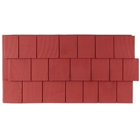 Amostra – New Wall 30cm x 30 cm CedarShake Red