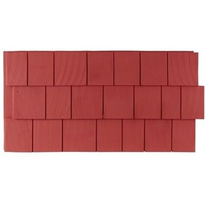 Amostra – New Wall 30cm x 30 cm CedarShake Red