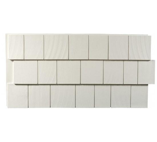 Amostra – New Wall 30cm x 30 cm CedarShake Whit