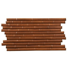 Amostra - New-Wall 0.30 x 0.30m  bamboo large bronzed
