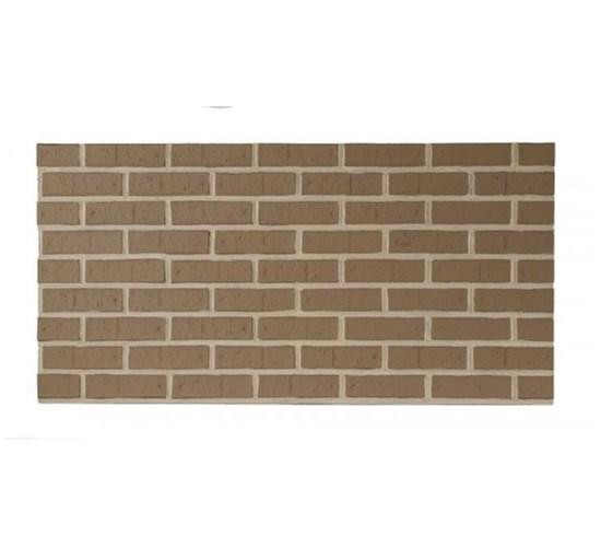 Amostra - New Wall 0.30 x 0.30m comtemp brick colo tan