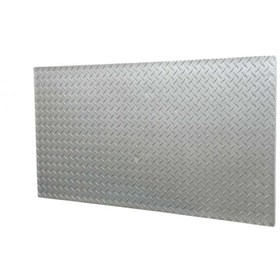 Amostra - New-Wall 0.30 X 0.30M Diamond Plate Silver