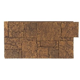 AMOSTRA - NEW-WALL 0.30 X 0.30M  HAND CUT BLOCK TAN