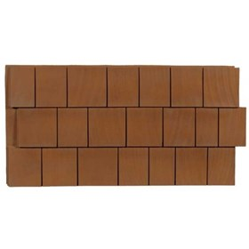 Amostra New-Wall 0,30X0,30M Cedar Shake Natural Tan