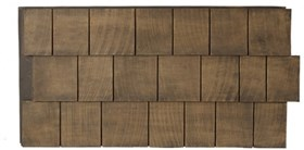 Amostra New Wall 30cm x 30cm Cedar Dark Brow