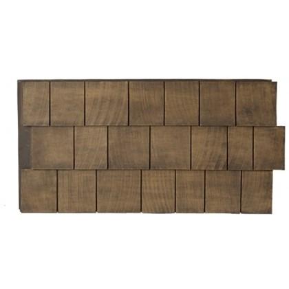 Amostra New Wall 30cm x 30cm Cedar Dark Brow