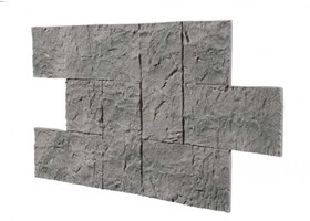 Amostra Painel New Wall Castle Stone 30x30cm - Natural Gray