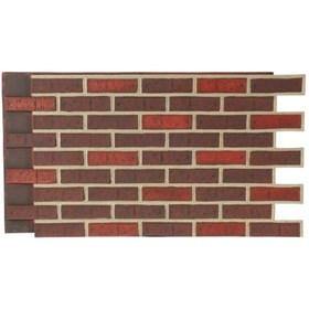 Amostra Painel New Wall Contemporary Brick 15x15cm - Gray Grout
