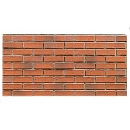 Amostra Painel New Wall Contemporary Brick 30x30cm - Burnt Orange