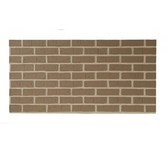 Amostra Painel New Wall Contemporary Brick 30x30cm - Tan
