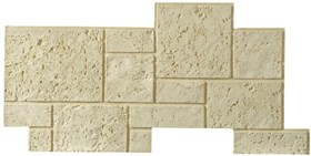 Amostra Painel New Wall Coral Block 15x15cm
