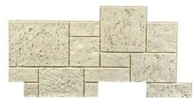 Amostra Painel New Wall Coral Block 30x30cm