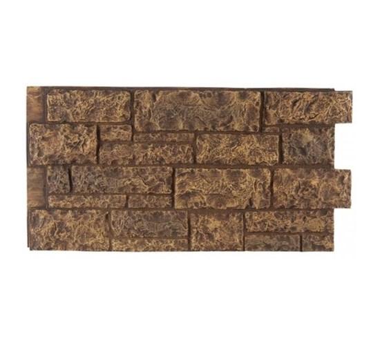 Amostra Painel New Wall Cut Granite 15x15cm - Tan