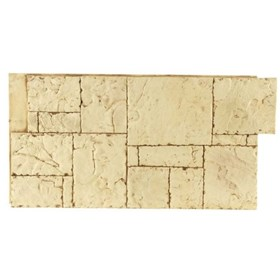 Amostra Painel New Wall Hand Cut Block 15x15cm - Tan