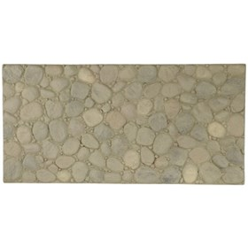 Amostra Painel New Wall Large Rivestone 30x30 Natural Gray