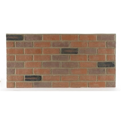 Amostra Painel New Wall Rustic Brick Burnt 15x15cm - Old World