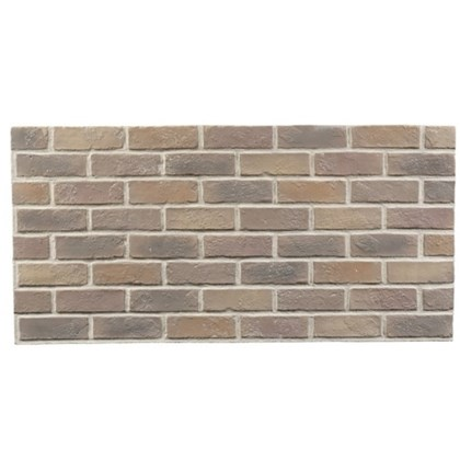 Amostra Painel New Wall Rustic Brick Burnt 30x30cm - Colonial Tan