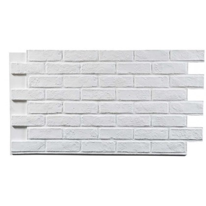 Amostra Painel New Wall Rustic Brick Burnt 30x30cm - White