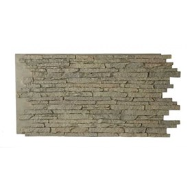 Amostra Painel New Wall Stacked Stone 30x30cm - Natural Gray